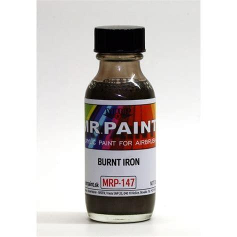Mr Color Burnt Iron metallic colors pigments uschi der rosten