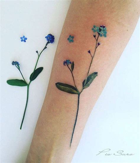 forget me not tattoos best 20 forget me not ideas on myosotis