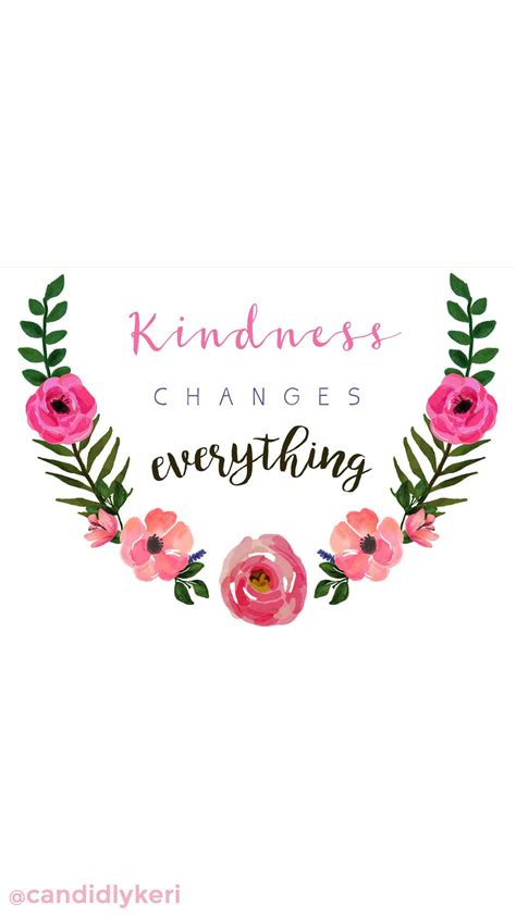 wallpaper flower crown quot kindness changes everything quot quote flower crown