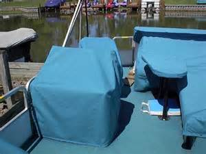 Seat Covers For Pontoon Boats Seat025 Lakeside Canvas