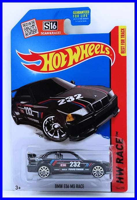 Hotwheels Bmw E36 M3 Race C 443 bmw e36 m3 race model racing cars hobbydb