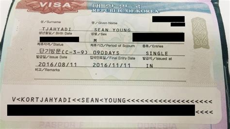 cara membuat visa untuk wisata pengalaman dan cara membuat visa korea selatan story of life