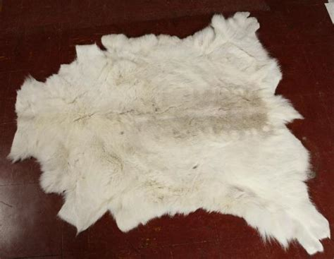 white animal skin rug white riendeer hide pelt rug throw animal fur skin warm winter decor