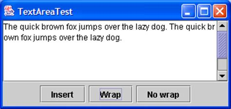 java swing text box textarea exle images frompo 1