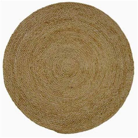 Jute Braided Round 6 Ft X 6 Ft Rug Acura Homes Area 6 Foot Rugs