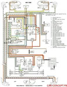 sch 233 ma faisceau 233 lectrique de vw cox coccinelle 1200 1300 1302 1303 sur car concept