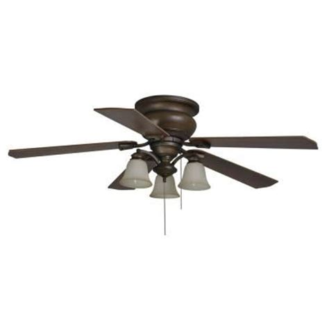 hton bay eastvale 52 in berre walnut ceiling fan