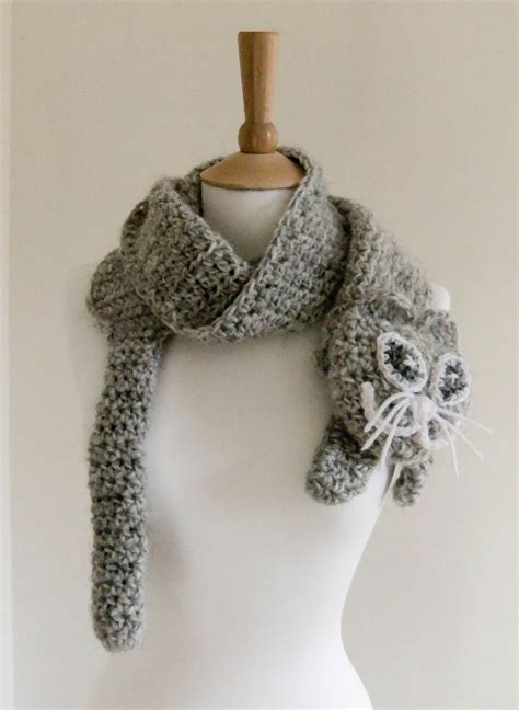 cute neckwarmer pattern crochet scarf pattern pdf format pattern neck warmer pattern