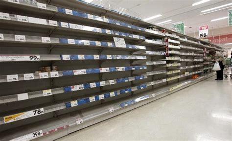 Shelf Store by Post Defiance 187 Empty Store Shelves