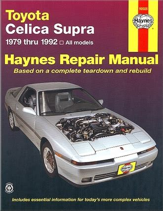 service manual hayes car manuals 1992 toyota supra head up display service manual hayes auto toyota celica supra repair service manual 1979 1992 haynes