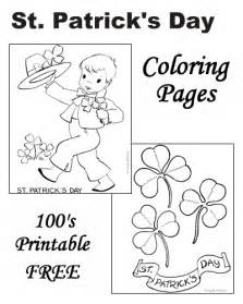 free st s day coloring pages st s day coloring pages