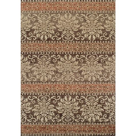 area rugs 5x7 city furniture gala rust 5x7 area rug
