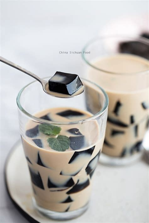 Grass Jelly by Grass Jelly Cincau China Sichuan Food