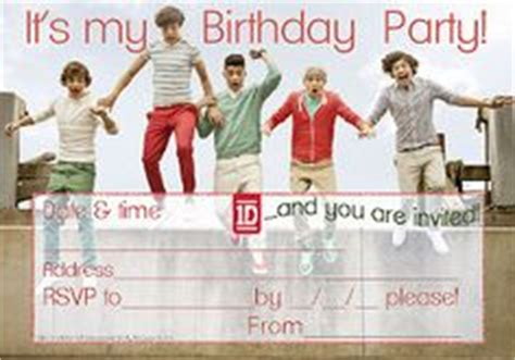 printable birthday cards one direction 1000 images about free printable party invitations for
