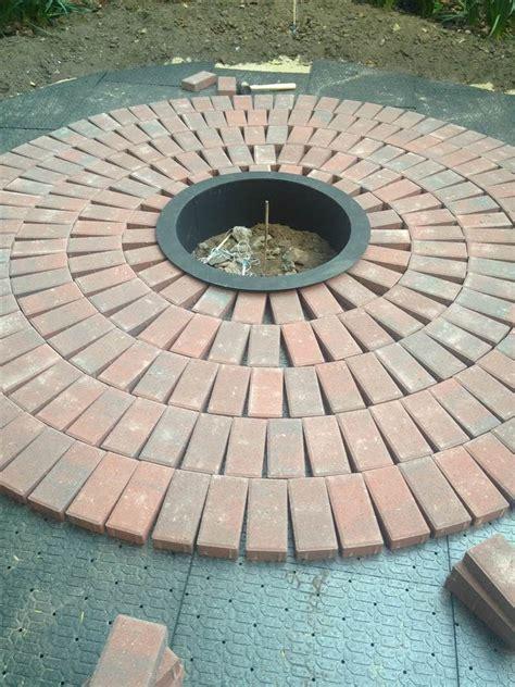backyard beauty create   brick patio   diy