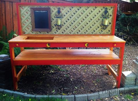 outdoor potting bench with sink plans outdoor potting bench with sink plans the kienandsweet