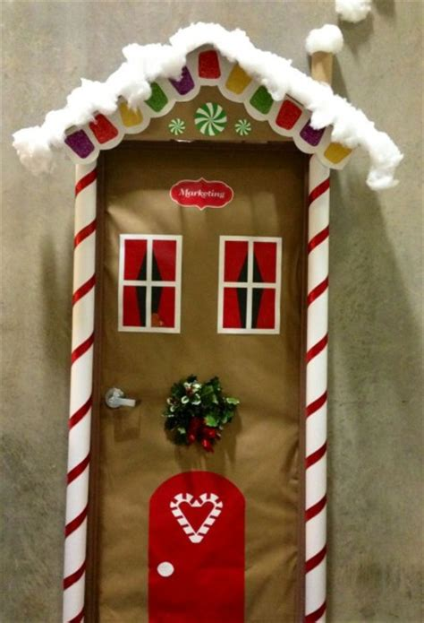 christmas gingerbread house decoration ideas 50 door decoration ideas pink lover