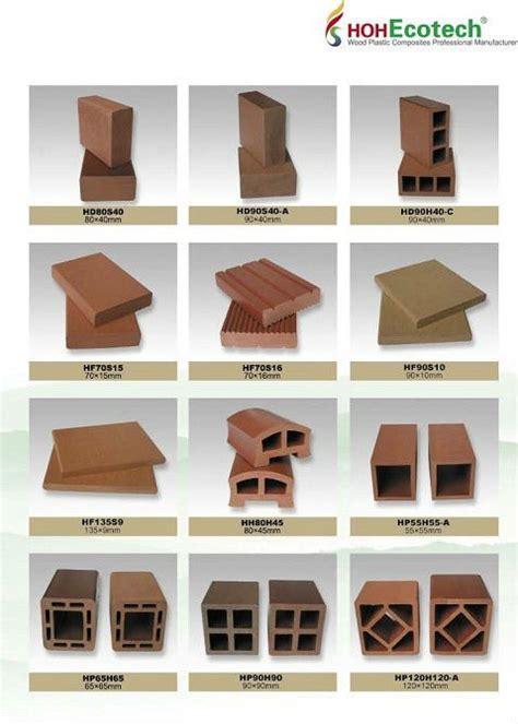 Corrimano In Plastica - legno plastica corrimano e parapetto profiliin wpc per