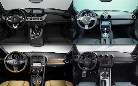 Bmw Vs Mercedes Interior interior design bmw vs audi mercedes and porsche