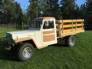 1960 willys jeep truck restored classic willys