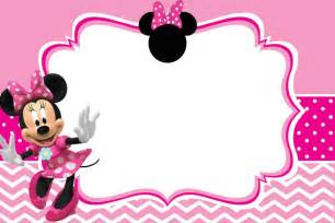 minnie mouse free printable invitation templates