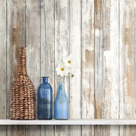 peel and stick wallpaper distressed wood peel and stick wallpaper gray brown white 3d realistic barnwood ebay