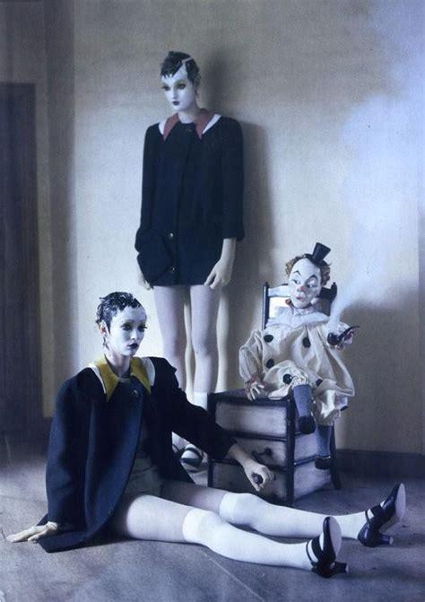 doll fashion editorial fashion and creepy fashion mechanical doll
