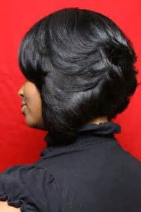 bob haircuts with feathered sides 10 layered bob hairstyles for black women short