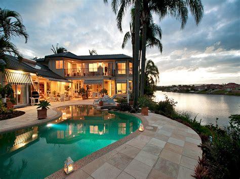 acreage home design gold coast gold coast panoramic waterfront home