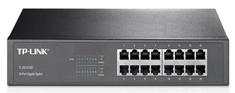 Tp Link Tl Sg1016d 16 Port Gigabit Switch Desktop Diskon tp link 16 port gigabit desktop switch tl sg1016d