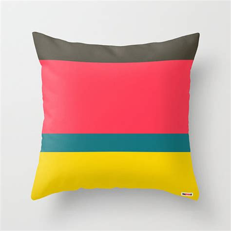 Colorful Pillows For Sofa Decorative Pillows For Couch Stripes Decorative Throw Pillow