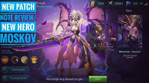 mobile legend new mobile legends new moskov update patch preview
