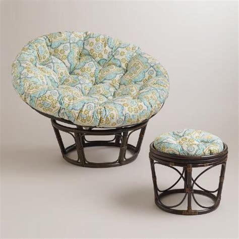 papasan chair cushion world market white mosaic papasan chair cushion world market