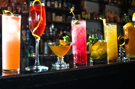 Top Drinks At A Bar by The 33 Best Cocktail Bars In The Country