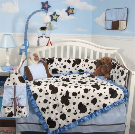 Cow Crib Bedding Cow Crib Bedding Sets