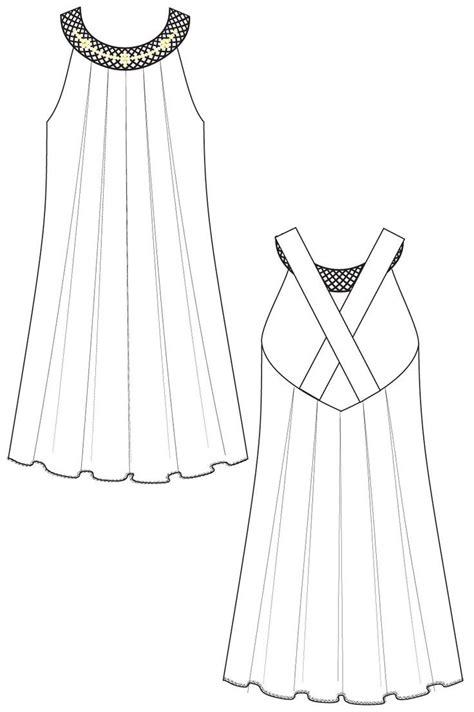 a line clothes - Google Search | Fashion pattern, Dessin