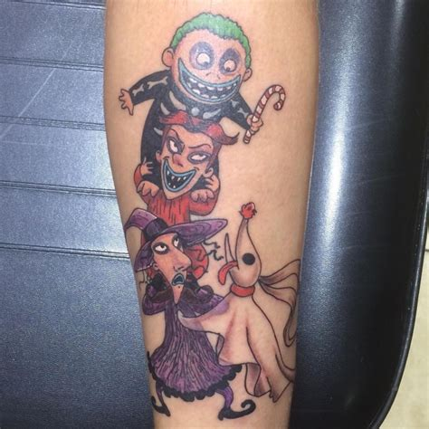 13 best nightmare before christmas tattoos sheideas