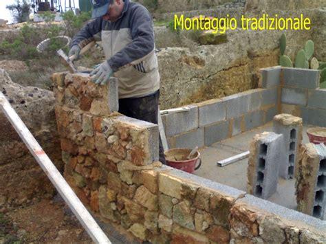 Costruire Muro Blocchi Cemento by Costruire Un Muro In Blocchi Di Cemento Cemento Armato
