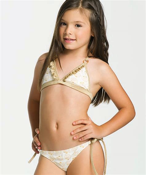 tmtv preteen model shell beach girls triangle bikini ondademar kids