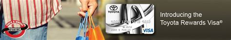 Toyota Rewards Visa Credit Card Toyota Rewards Frank Fletcher Toyota Joplin Mo