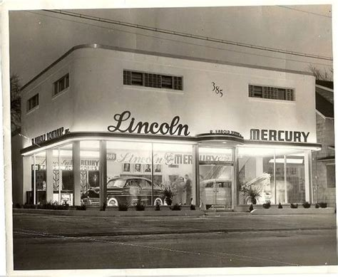 lincoln mercury dealership lincoln and mercury dealership 1950s car dealerships