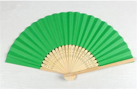 Paper Materials - blank folding fan children s painting painted fan creative