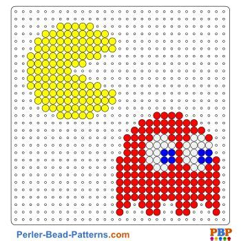 pacman pattern video pacman perler bead pattern download a great collection of