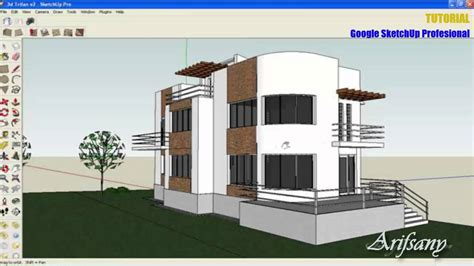 tutorial memakai google sketchup tutorial google sketchup pro rendering using vray
