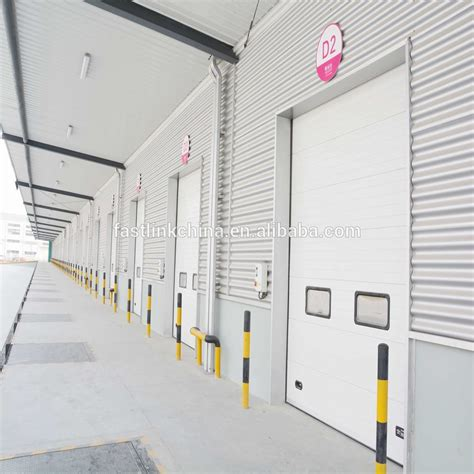 Ce Approved Insulated Automatic Industrial Overhead Door Automatic Overhead Door