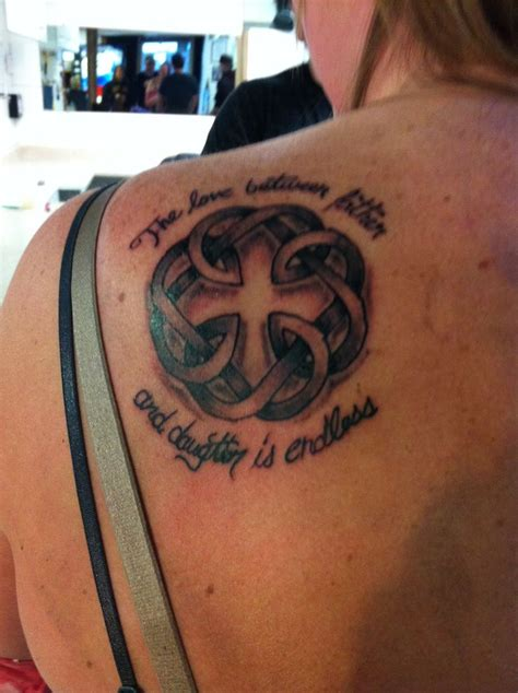 tattoo quotes for father daughter 8 best dad and daughter images on pinterest celtic knot
