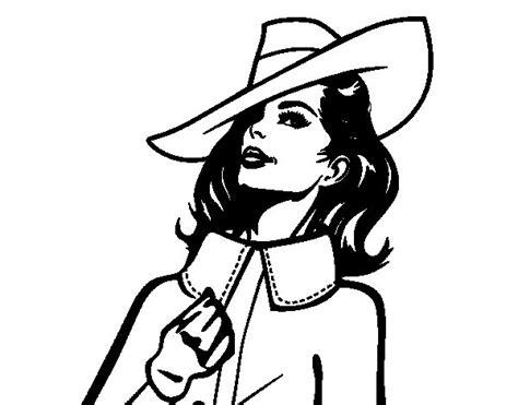 imagenes para dibujar mujeres desenho de mulher sofisticada para colorir colorir com