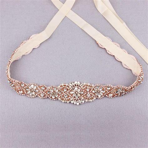 gorgeous wedding dress sashes and belts