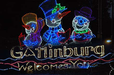 take a special tour of the christmas lights in gatlinburg