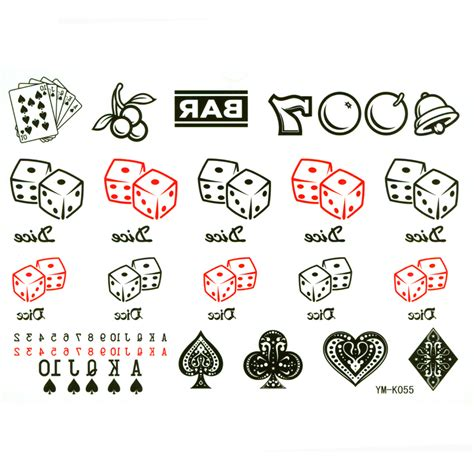 aliexpress zar online buy wholesale dice tattoos from china dice tattoos